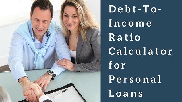 Debt-To-Income Ratio Calculator for Personal Loans